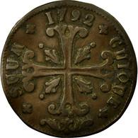 Monnaie, SWISS CANTONS, NEUCHATEL, 1/2 Batzen, 1792, Neuenburg, TTB, Billon - Suisse