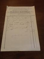 DITTA FRANCESCO MARTORELLA-OPIFICIO DI LAVORI DI FERRO-PALERMO-1884 - Italie