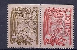 190031326   SUECIA  YVERT  Nº  541/2  **/MNH - Suecia