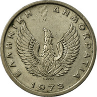 Monnaie, Grèce, 5 Drachmai, 1973, TB, Copper-nickel, KM:109.1 - Grèce