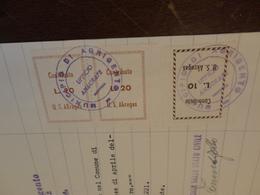 MARCHE DA BOLLO U.S. AKRAGAS (AGRIGENTO) LIRE 10+LIRE 20 + LIRE 20 - 1959 - 6. 1946-.. Repubblica