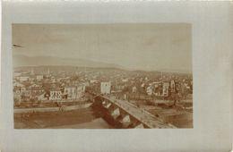 CPA Real Photo Postcard USKUB SKOPJE Panorama MACEDONIA SERBIA (709051) - Macédoine
