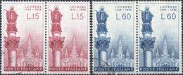 REPUBBLICA 1958 - LOURDES - 2 SERIE COMPLETE USATE - 1946-60: Usati