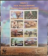 DE23 - Mozambique 2002 MNH Minisheet - Grande Limpopo Reservation - Animals Fauna - Mozambique