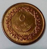 Libya - 5 Dirham - 1979 - KM 19 - AUNC - Agouz - Libye