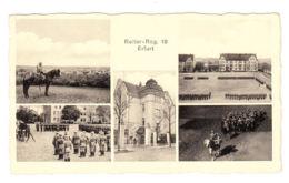 AK Erfurt, Reiter Reg. 16, Gel. 1934 - Erfurt