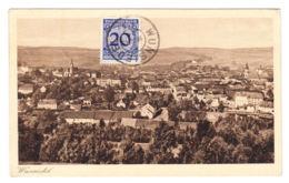 AK Wunsiedel, Totalansicht, Gel. 1924 - Wunsiedel