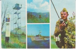 Romania - Border Police, Border Guards, Used - Patriotiques