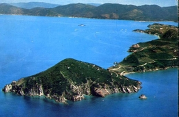 Capo D'enfola - Veduta Aerea - Isola D'elba - Formato Grande Viaggiata – E 10 - Livorno