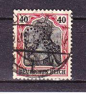 Germania, Perfin Firmenlochung, GU: Gewerbebank Ulm, Entwertet 1920 (69860) - Deutschland