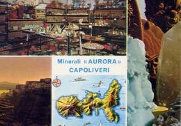 Capoliveri - Minerali Aurora - Isola D'elba - 7563 - Formato Grande Non Viaggiata – E 10 - Livorno