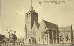 Blankenberghe -- L' Eglise.   (2 Scans) - Blankenberge