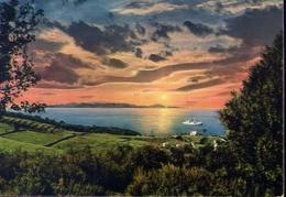 Golfo Di Follonica - Tramonto Sull'isola D'elba - Formato Grande Viaggiata – E 10 - Livorno