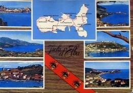 Isola D'elba - 138 - Formato Grande Viaggiata Mancante Di Affrancatura – E 10 - Livorno