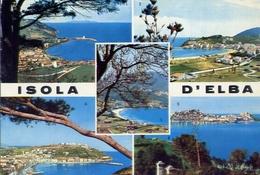 Isola D'elba - 82 - Formato Grande Viaggiata – E 10 - Livorno
