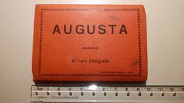 Augusta (Siracusa) - Cofanetto, Carnet 10 Mini Fotografie - Anni '30? - Italia