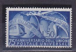 Italie, N° 538, UPU, Neuf**, Cote 50€  ( W1910/061) - 6. 1946-.. Repubblica