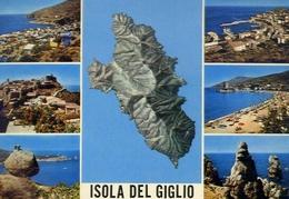 Isola Del Giglio - 14 - Formato Grande Viaggiata – E 10 - Grosseto