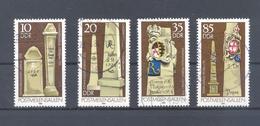 1984   DDR Mi-2853-2856   7. Februar Postmeilensäulen - [6] République Démocratique