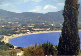 Marina Di Campo - La Spiaggia - Isola D'elba - Formato Grande Viaggiata – E 10 - Livorno