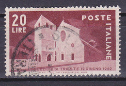 Italie, N° 544, Trieste, Oblitéré, Cote 12.5€  ( W1910/063) - 1946-60: Usati