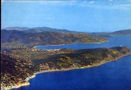 Marina Di Campo - Veduta Dall'aereo - Isola D'elba - 350 - Formato Grande Viaggiata – E 10 - Livorno