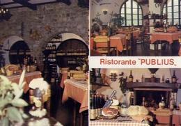 Poggio - Isola D'elba - Ristorante Publius - Formato Grande Non Viaggiata – E 10 - Livorno