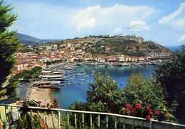 Porto Azzurro - Isola D'elba - 188 - Formato Grande Viaggiata – E 10 - Livorno