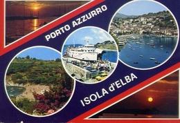 Porto Azzurro - Isola D'elba - 564 - Formato Grande Viaggiata – E 10 - Livorno