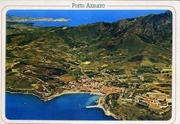 Porto Azzurro - Sullo Sfondo Portoferraio - Isola D'elba - 833 - Formato Grande Viaggiata – E 10 - Livorno