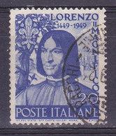 Italie, N° 547, Lorenzo, Oblitéré, Cote 5€  ( W1910/065) - 1946-60: Usati