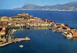 Portoferraio - Veduta Aerea - Isola D'elba - 254 - Formato Grande Viaggiata – E 10 - Livorno