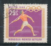 N° Yv 455 - J.O. De Mexico - Mongolie