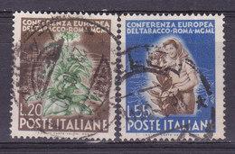 Italie, N° 568+569, , Oblitéré, Cote 42€  ( W1910/067) - 1946-60: Usati