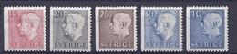 190031328   SUECIA  YVERT  Nº  460/462/463/464/470  **/MNH - Suecia