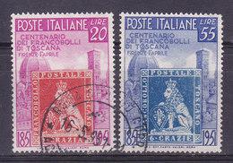 Italie, N° 591+592, , Oblitéré, Cote 35€  ( W1910/069) - 1946-60: Usati