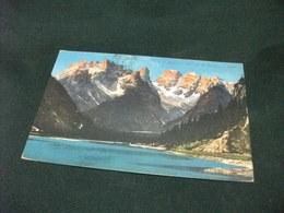 DOLOMITI AMPEZZANE LAGO DI LANDRO COL M. CRISTALLO PICCOLO FORMATO - Bolzano