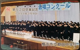 Telefonkarte Japan - Boys And Girls - 110-016 - Japan