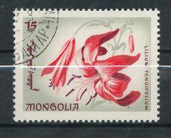 N° Yv 384 - Fleurs - Mongolie