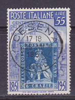 Italie, N° 592, , Oblitéré, Cote 33.5€  ( W1910/070) - 1946-60: Usati
