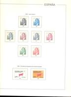 España - Suplemento EDIFIL Año 2002 - Montado Con Filaestuches Transparentes - 14 Hojas - Envío Gratuito A España - Álbumes & Encuadernaciones