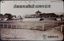 Telefonkarte Japan - Werbung - JRA - Gebäude - 430-13306 - Japan
