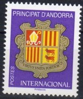 FRENCH ANNDORRA, 2018, MNH, COAT OF ARMS,1v - Stamps