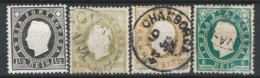 Portuguese India 1886 King Luis I, Selection - BLPRTG - Mixt Condition - BL-300 - Inde Portugaise