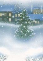 Christmas Tree In Winter Landscape - Red Cross 1998 - Postal Stationery - Suomi Finland - Postage Paid - Finlande