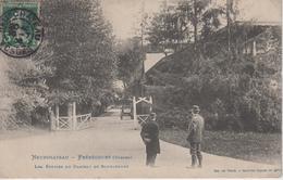 CPA Neufchateau - Frébécourt - Les écuries Du Château De Bourlémont (avec Animation) - Neufchateau