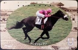 Telefonkarte Japan - Reitsport - Pferd - 231-146 - Japan