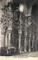 Dixmude - Le Jubé Et L'Eglise Saint-Nicolas (Phot. Bertels 1911) - Diksmuide