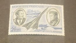 K19303 - Stamp MNH France 1970 - SC. C43 - Jean Mermoz And Antoine De Saint Expury And Concorde - Concorde