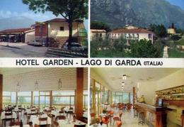 Limone - Hotel Garden - Lago Di Garda - Formato Grande Non Viaggiata – E 10 - Brescia